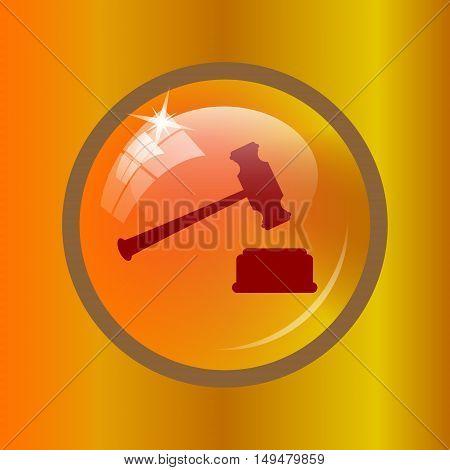 Judge Hammer Icon