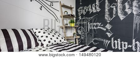 Blackboard Music Room For Teen
