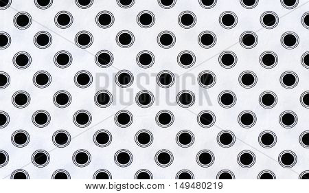 fabric background with polka dots for your design