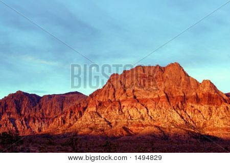 Red Rock Canyon Early Morning
