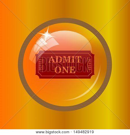 Admin One Ticket Icon