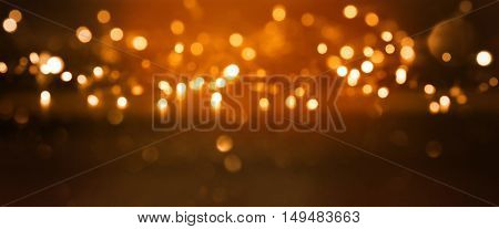 Dark background with light effects for holidays