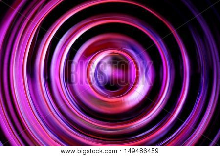 Dark defocused circles - abstract background