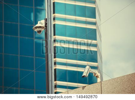 Security CCTV  ip camera in office building