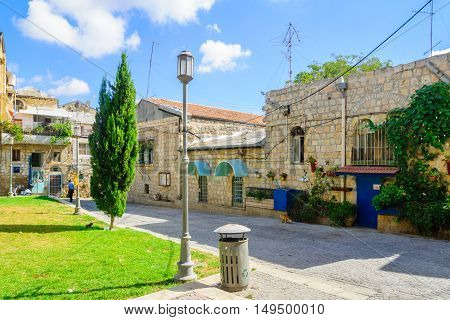 Inner Yard, In The Historic Nachlaot District, Jerusalem