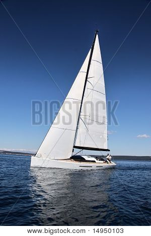 Sailing on Adriatic See