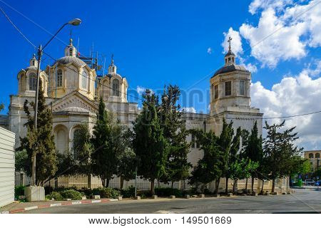 The Holy Trinity Cathedral, In The Russian Compound, Jerusalem