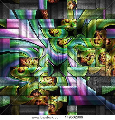 Scrambled Fractal Background