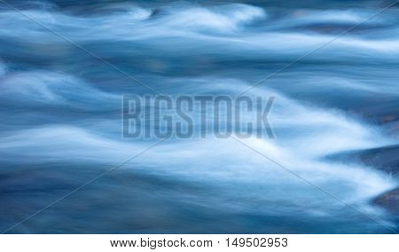 motion water blue nature abstract river movement of water