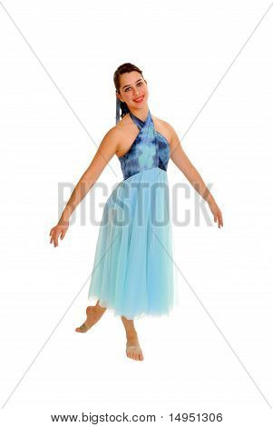Smiling Lyrical Dancer