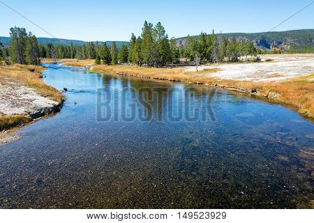 Firehole River View