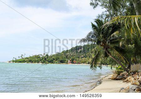 Tropical sunny beach. Thailand.