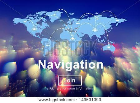 Navigation Location Planning Position Route Concept