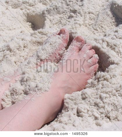 The Sand Between Your Toes!