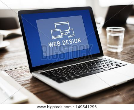 Web Design Innovation Computer Concept