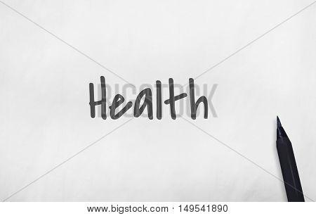 Health Wellbeing Wellness Hygiene Concept