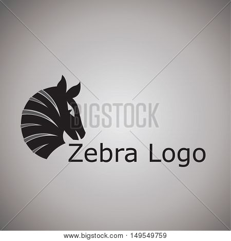 zebra ideas design vector illustration on background