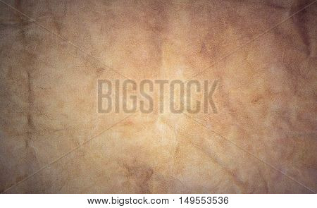 Brown leather  texture for background and backdrop