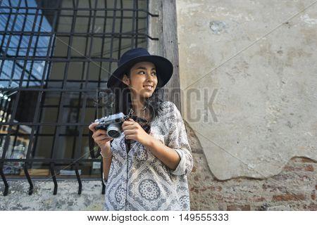 Camera Photographer Inspiration Journey Style Concept