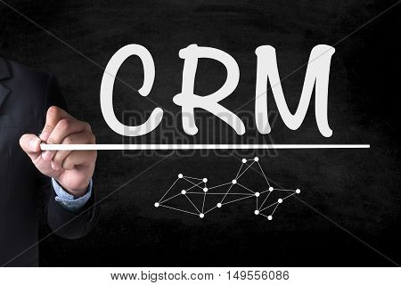 Business Customer Crm Management Analysis Service Concept