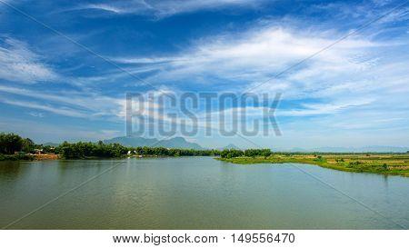 On Thu Bon river in Hoi An