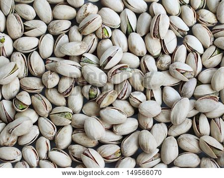 Food tasty pistachio texture pattern for background