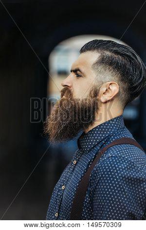 Handsome Bearded Man