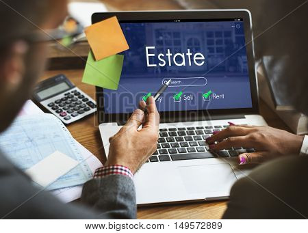 House Loan Estate Sell Mortgage Concept