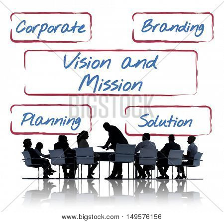 Business Team Meeting Discussion Communication Concept