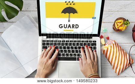 Guard Browsing Digital Device Concept