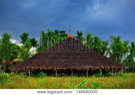 this is home sweet home from papua melanesian culture