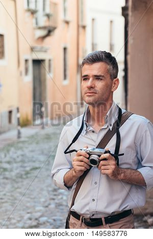 Tourist Shooting In The Street