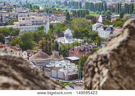 Downtown Plovdiv Bulgaria