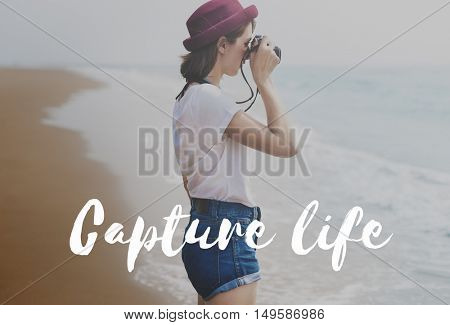 Capture life Memories Collection Concept
