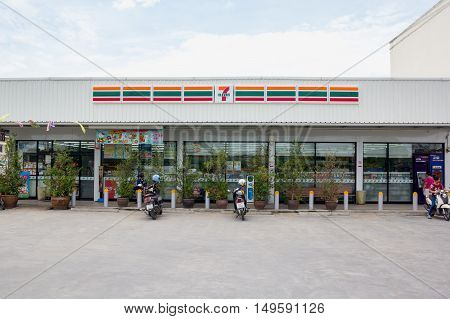 Nakhon Ratchasima THAILAND - May 21 2016 : 7-Eleven convenience store with largest number of outlets in Thailand.