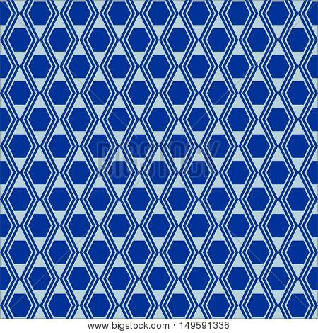 Vector seamless pattern. Colorful ethnic ornament. Arabesque style. Islamic art.