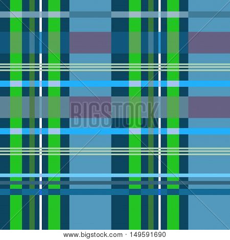 Tartan seamless pattern. Fashion graphic background design. Modern stylish abstract texture. Colorful template for prints textiles wrapping wallpaper website. VECTOR illustration