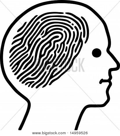 Thumbprint Brain