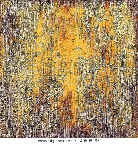 Ancient textured background or shabby backdrop. With different color patterns: yellow (beige); brown; gray; red (orange)