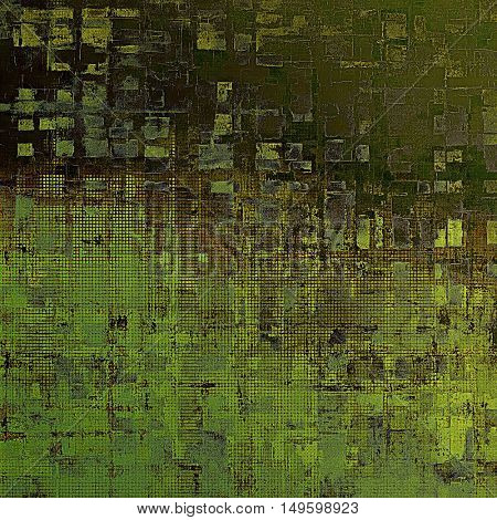 Beautiful retro background, nice looking ancient texture with different color patterns: brown; gray; green