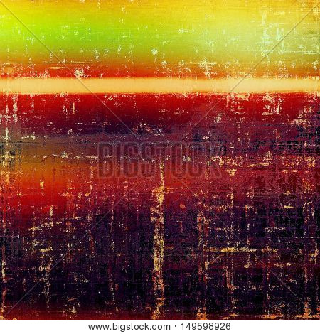 Creative vintage surface texture, close up grunge background composition. With different color patterns: yellow (beige); green; red (orange); purple (violet); pink