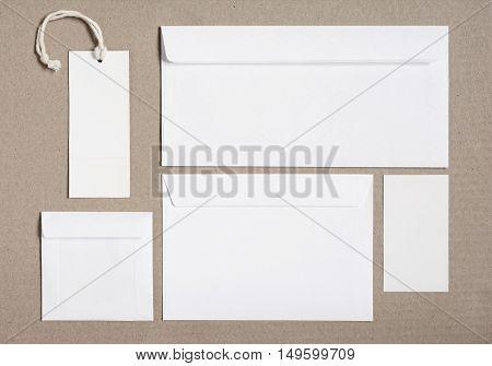 Stationery Branding Mockup For Identity Designs