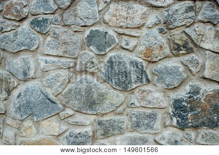 Stone Wall Exterior,background With Good Texture