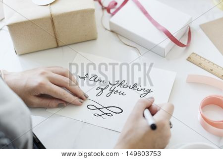 Box Present Celebration Decoration Concept