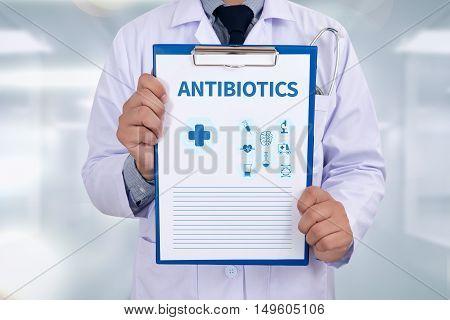 Antibiotics Concept