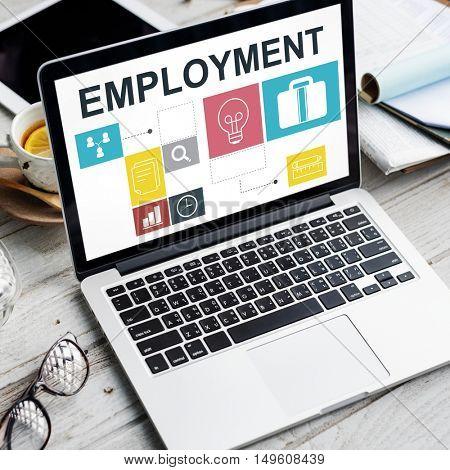 Job Oportunites Motivation Employment Competence Concept