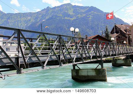 Interlaken - A Beautiful City In Switzerland