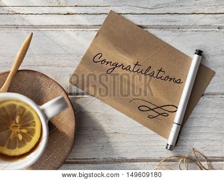 Congratulations Celebrations Abstract Event Concept