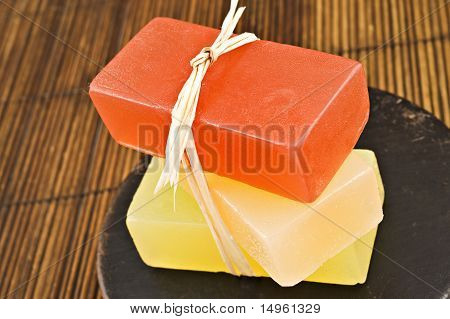Three Bars Of Glyderin Soap In Spa