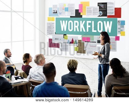 Workflow Efficient Business Process Procedure Concept